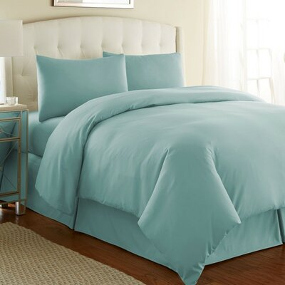 Cosima 3 Piece Duvet Cover Set Size: King / California King, Color: Sky Blue