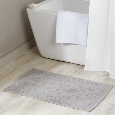 Bloomfield Hills Bath Mat Color: Light Gray