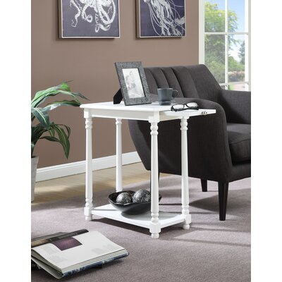 Carlisle End Table Color: White