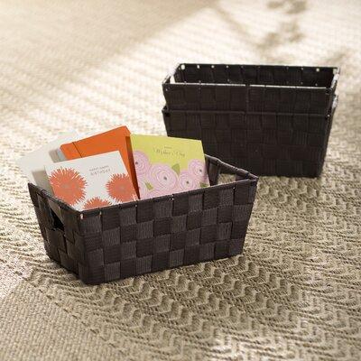 Berecraft Woven Strap Shelf Tote