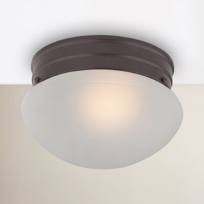 Cedar Rapids 1-Light Flush Mount Finish: Oil Rubbed Bronze