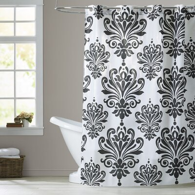 Chelmsford Beacon Hill Shower Curtain Color: Black