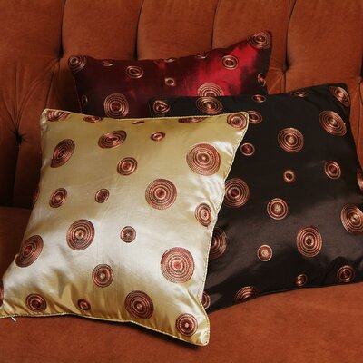 Schneider Pillow Cover Color: Burgundy