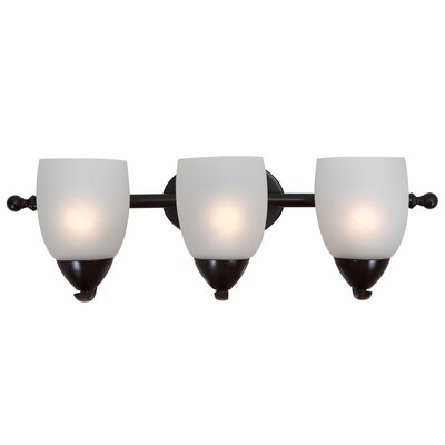 Monrovia 3-Light Vanity Light Finish: Oil Rubbed Bronze