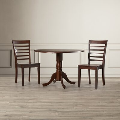 Gloucester 3 Piece Dining Set Finish: Mahogony