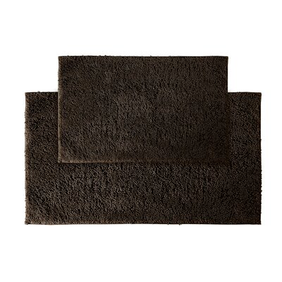 Roanoke Bath Rug Color: Chocolate