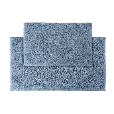Roanoke Bath Rug Color: Sky Blue
