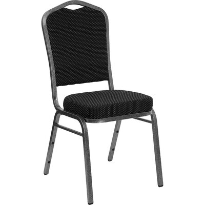 Crown Back Stacking Banquet Chair Vein Frame Guest Chair Product Image 126