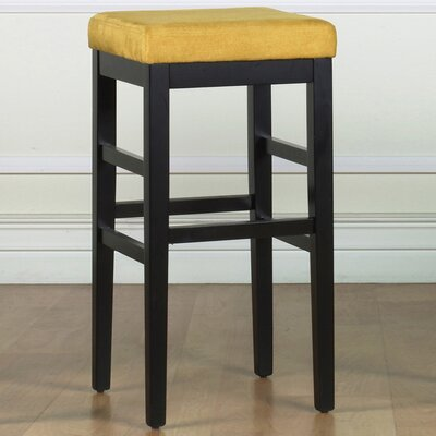 Plymouth 26 Bar Stool Upholstery: Yellow Microfiber
