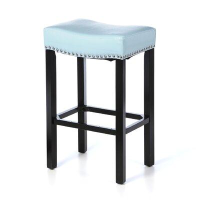 Springfield 30 inch Bar Stool Upholstery: Sky Blue