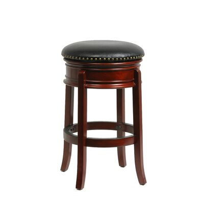 Kingsford 29 Swivel Bar Stool Finish: Cherry