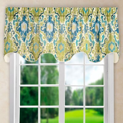 Mead Lined 70 Scallop Curtain Valance