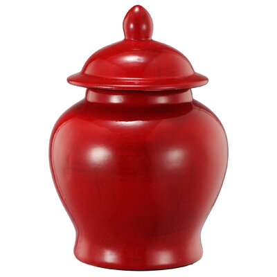 Charlton Home Stria Decorative Ginger Jar