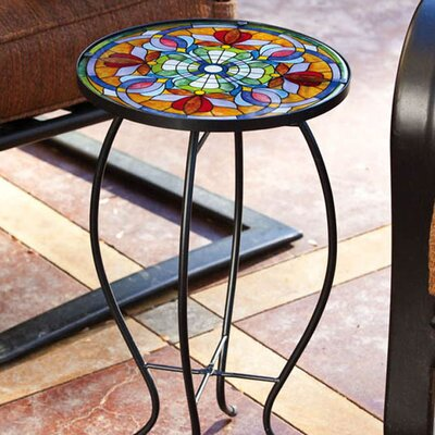 Sawyerville Floral Side Table
