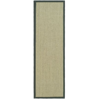Eldert Hand-Woven Marble/Light Gray Area Rug Rug Size: Runner 2'6