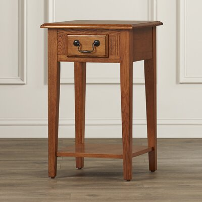 Apple Valley Square End Table Color: Medium Oak