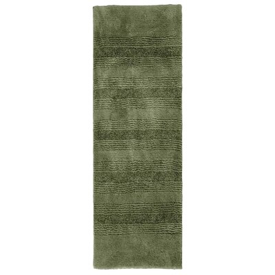 Herleston Brette Bath Rug Size: Runner 1 10 x 5, Color: Deep Fern