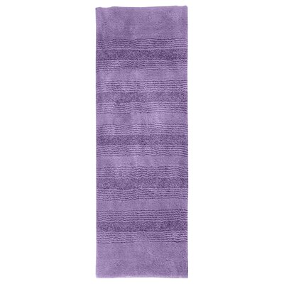 Herleston Brette Bath Rug Color: Purple, Size: 2 6 x 4 2