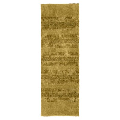 Herleston Brette Bath Rug Size: 2 6 x 4 2, Color: Linen