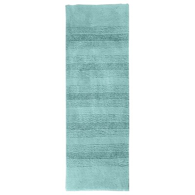 Herleston Brette Bath Rug Size: 2 x 3 4, Color: Sea Foam