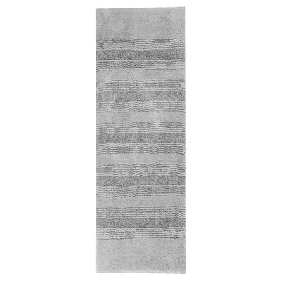Herleston Brette Bath Rug Color: Platinum Gray, Size: 2 6 x 4 2