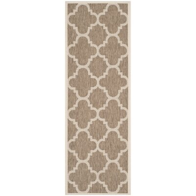 Octavius Brown Indoor Area Rug Rug Size: Rectangle 27 x 5