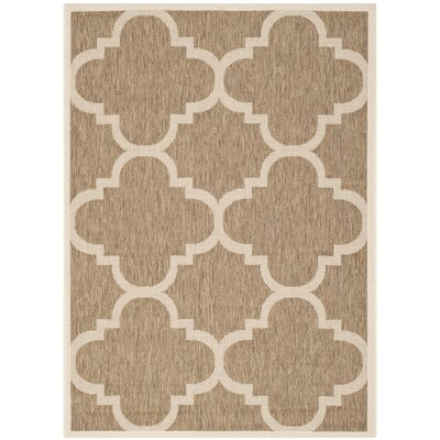 Alderman Brown Indoor Area Rug Rug Size: 53 x 77