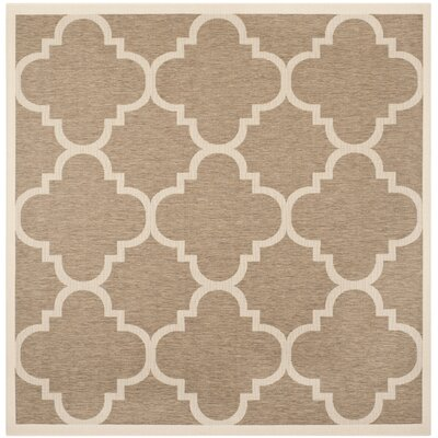 Octavius Brown Indoor Area Rug Rug Size: Square 710