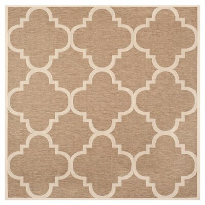 Octavius Brown Indoor Area Rug Rug Size: Square 53