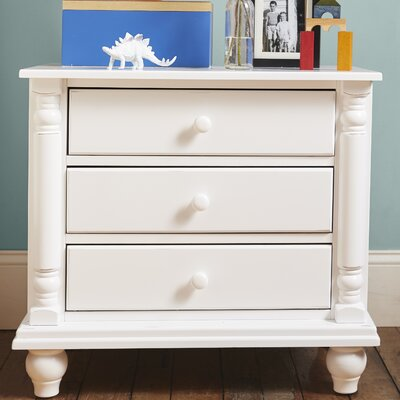 Bradstane 3 Drawer Nightstand