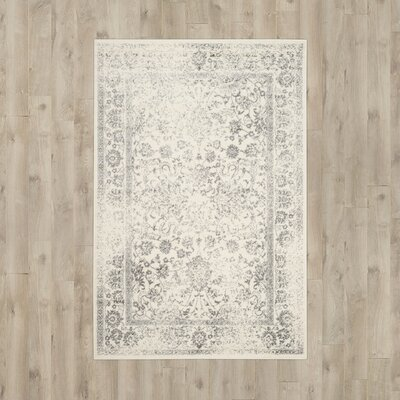 Reynolds Ivory/Silver Area Rug