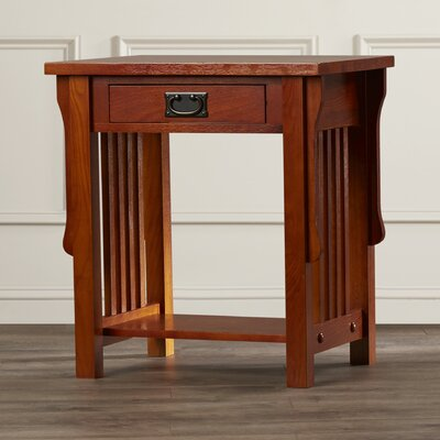 Jacobus 1 Drawer Nightstand