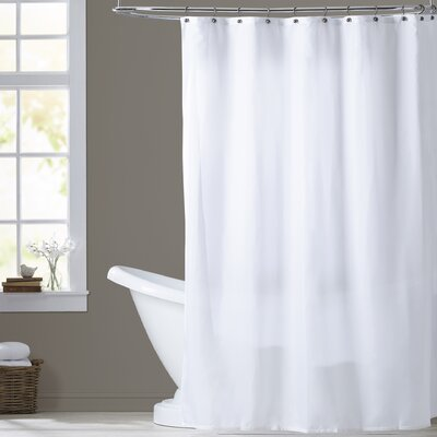 Tamesbury Shower Curtain Liner Color: White