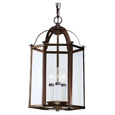 Leiters 3-Lights Foyer Pendant Finish: Heirloom Bronze Pendant
