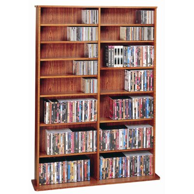Conners  Multimedia Storage Rack Finish: Cherry