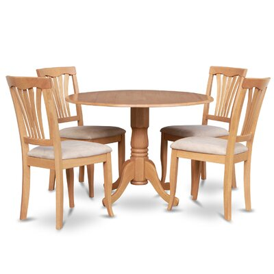 Gloucester 5 Piece Dining Set Finish: Oak