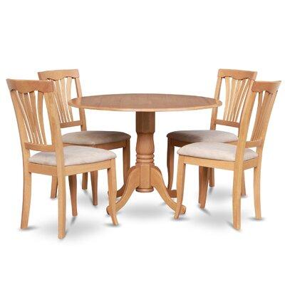 Gloucester 5 Piece Dining Set Finish: Oak