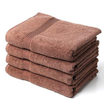 Superior Bath Towel Set Color: Mocha