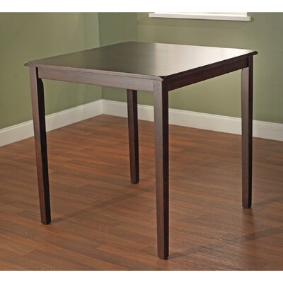 Whitworth Counter Height Dining Table Finish: Espresso