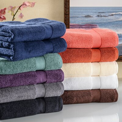 Charlton Home Clayton Zero Twist Bath Towel Set