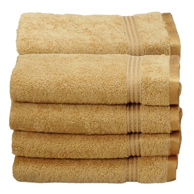Patric Hand Towel Color: Gold