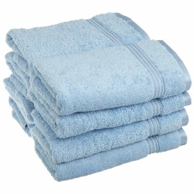 Patric 8 Piece Hand Towel Color: Light Blue