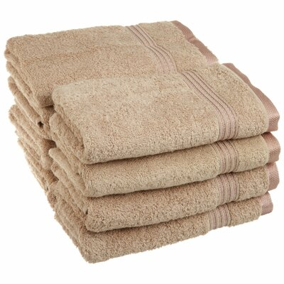 Patric 8 Piece Hand Towel Color: Taupe