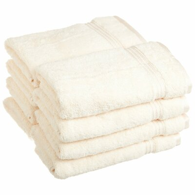 Patric 8 Piece Hand Towel Color: Ivory