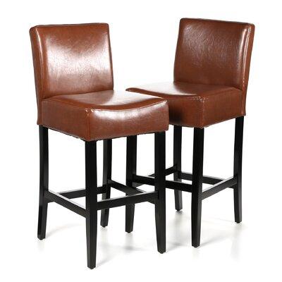 Ridgedale 29 Bar Stool Upholstery: Hazelnut