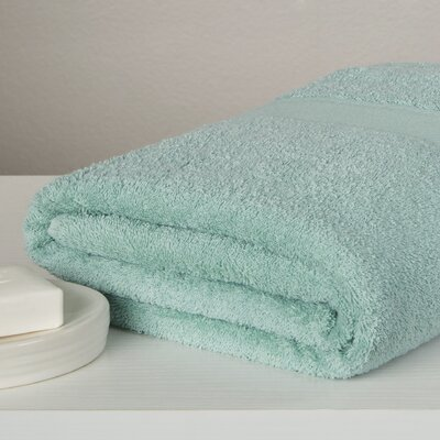 Carbonall Terry Bath Sheet Color: Sea Foam