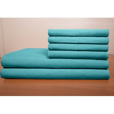 Porter Sheet Set Color: Teal, Size: Twin