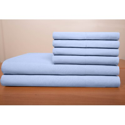 Porter Sheet Set Color: Blue, Size: Full