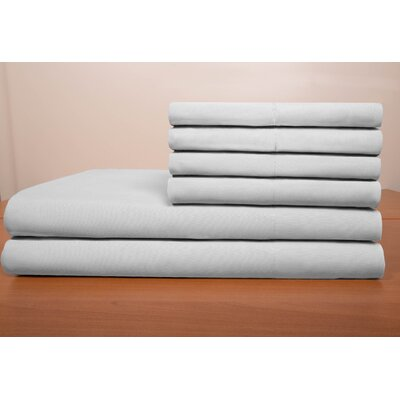 Porter Sheet Set Color: Platinum, Size: Queen