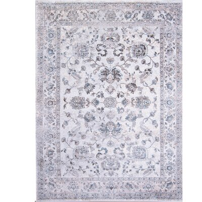 Corydon Distressed Ivory Area Rug Rug Size: Rectangle 33 x 43